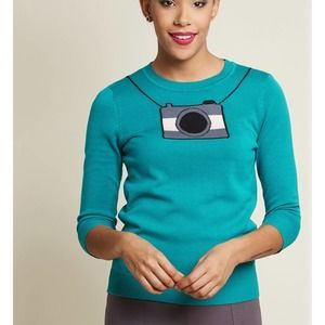 ModCloth calling the snapshots camera sweater